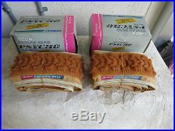 Tioga Rare Gum Amber Rubber 26 X 1.95 Mountain Bike Tires Vintage Nos Skin Wall