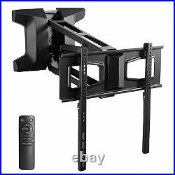 USED VIVO Steel Electric Adjustable TV Above Fireplace Mount for 37-70 Screens