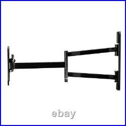 Ultra Long Reach TV Wall 2 Arm Mount Bracket Hama Tilt Swivel Motion 19-48 inch