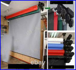 Updated 4-Roller Electric Background System Wall ceiling Mount