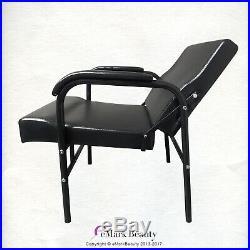 Wall Mounted ABS Plastic Tilting Shampoo Bowl and Shampoo Chair TLC-B13WT-216A