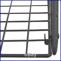 Wall Mounted Baskets Wire Metal Hanging Storage 3 Tier Fruits Shelf Grid Bins