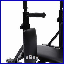 Wall Mounted Dipping Knee Raise Station Triceps Leg Raise Bars Rack Dip Exercise