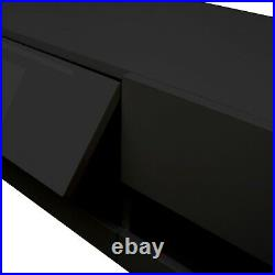 Wall Mounted Floating 80 TV Stand 20 Color LEDs Media&TV Consoles Living Room