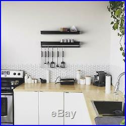 Xabitat Floating kitchen shelf organizer Wall Mounted-Shelf for kitchen-No Drill
